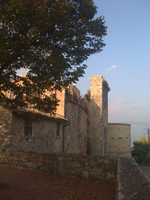 Porta Perugina vista dal bastione