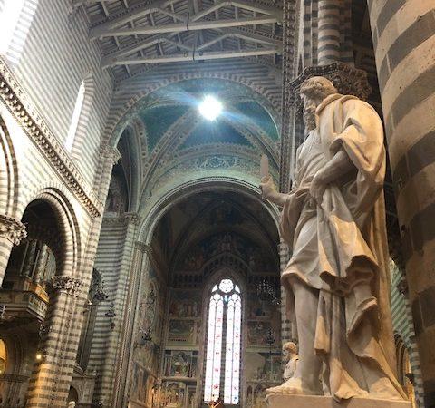 giganti di marmo duomo di Orvieto